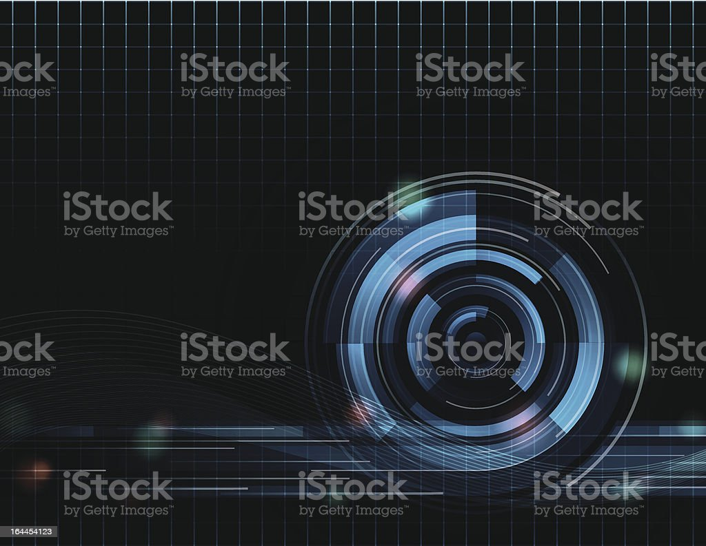 Vector Abstract Background Eight royalty-free stock vector art