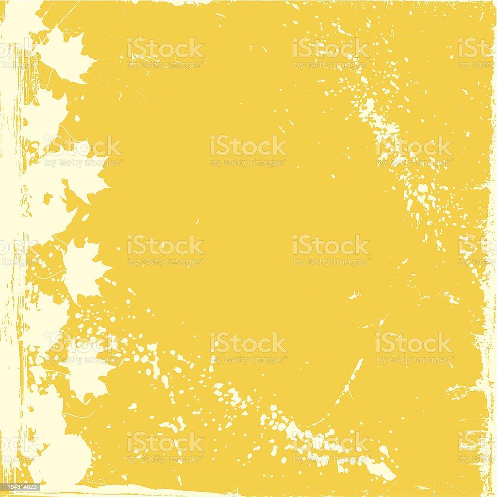 Vector. Autumn Background royalty-free stock vector art