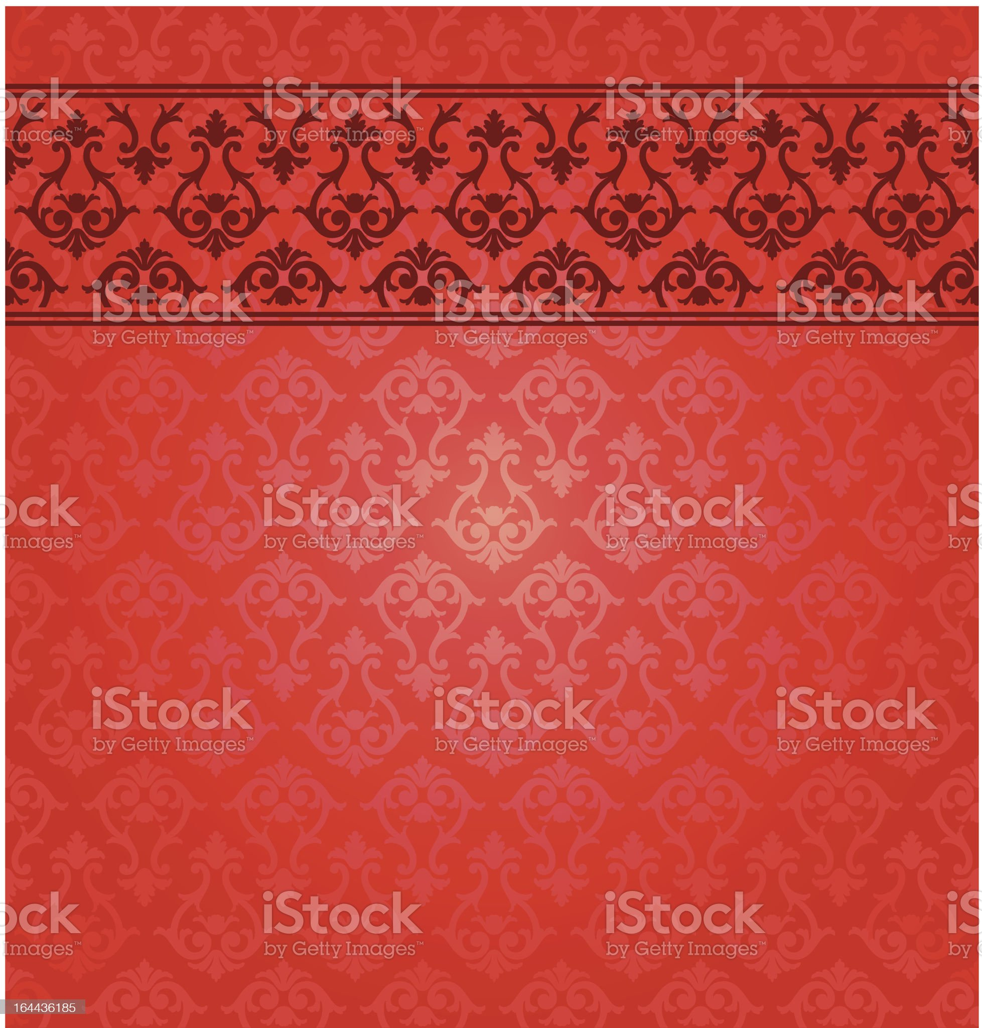 Vector background with ornate royalty-free stock vector art