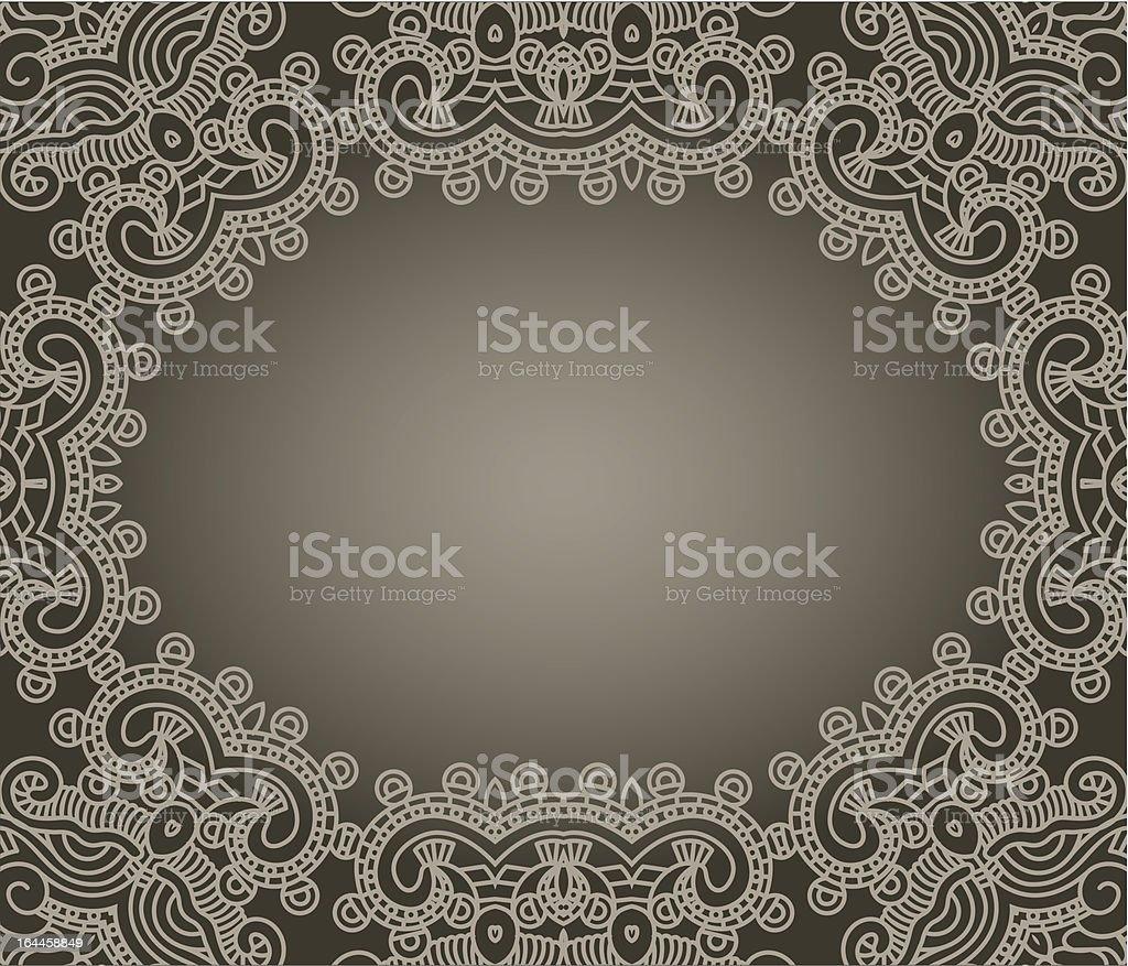 Vector decorative design element vector art illustration