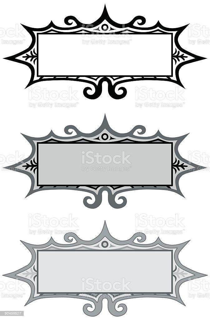 Vector Design Elements #01 royalty-free stock vector art