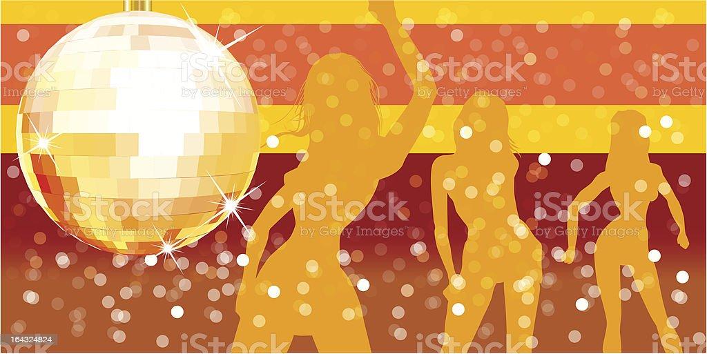 Vector disco party royalty-free stock vector art