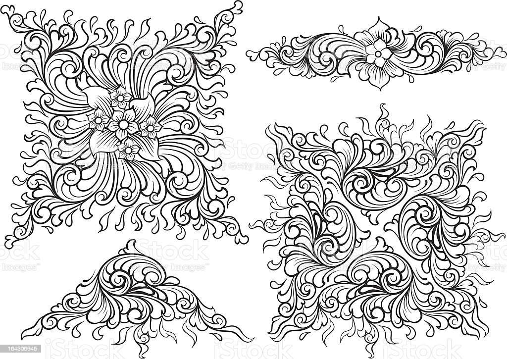Vector elements royalty-free stock vector art