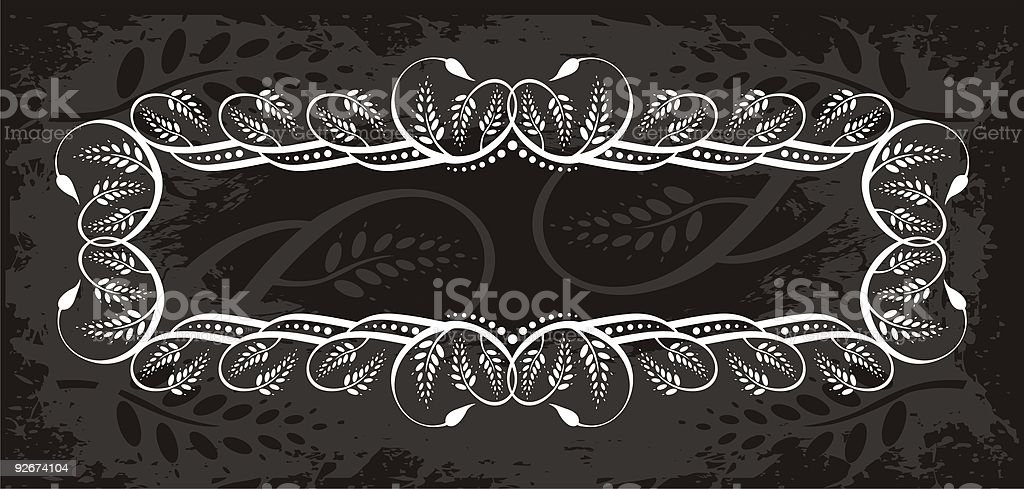 vector floral banner royalty-free stock vector art