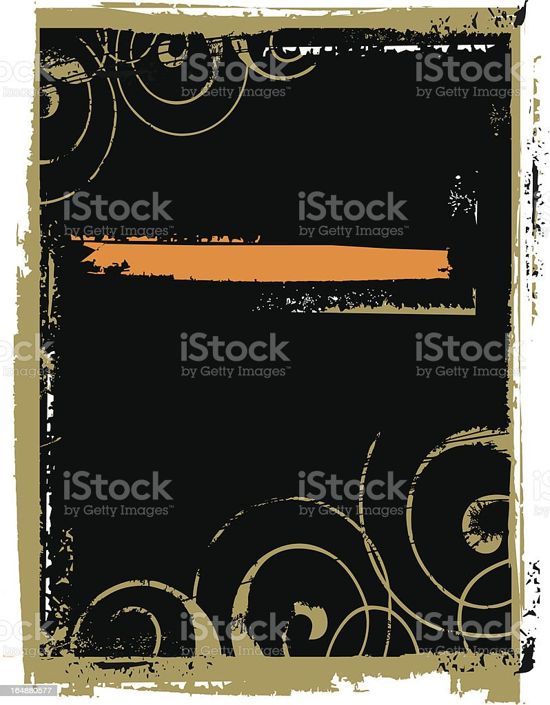 Vector grunge background royalty-free stock vector art