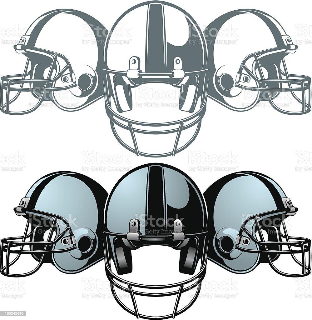 vector helmets royalty-free stock vector art