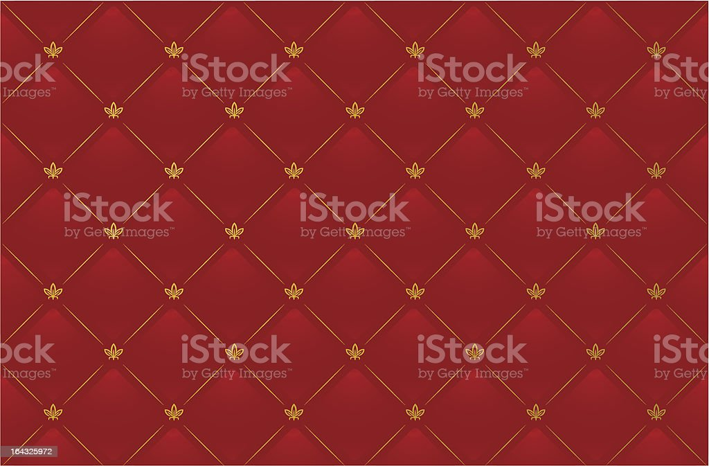 Vector illustration of red leather background royalty-free stock vector art