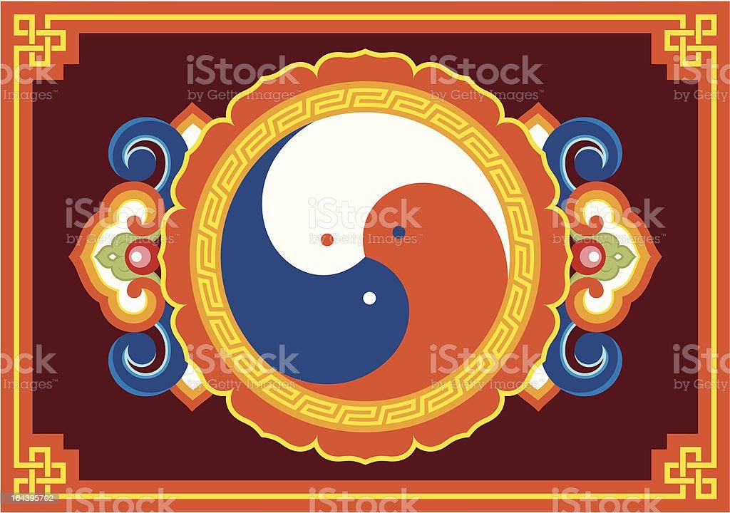 Vector Oriental Ornament royalty-free stock vector art