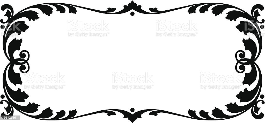 Vector Panel Design royalty-free stock vector art