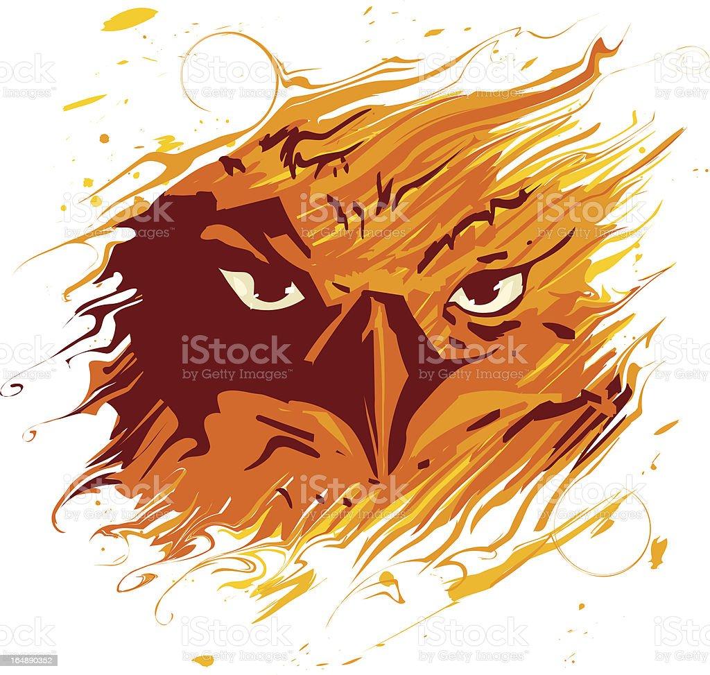 Vector Phoenix royalty-free stock vector art