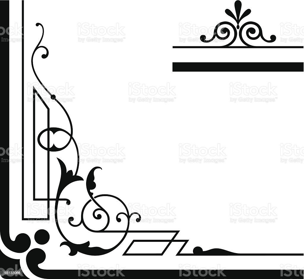 Vector Scroll - 11906 royalty-free stock vector art