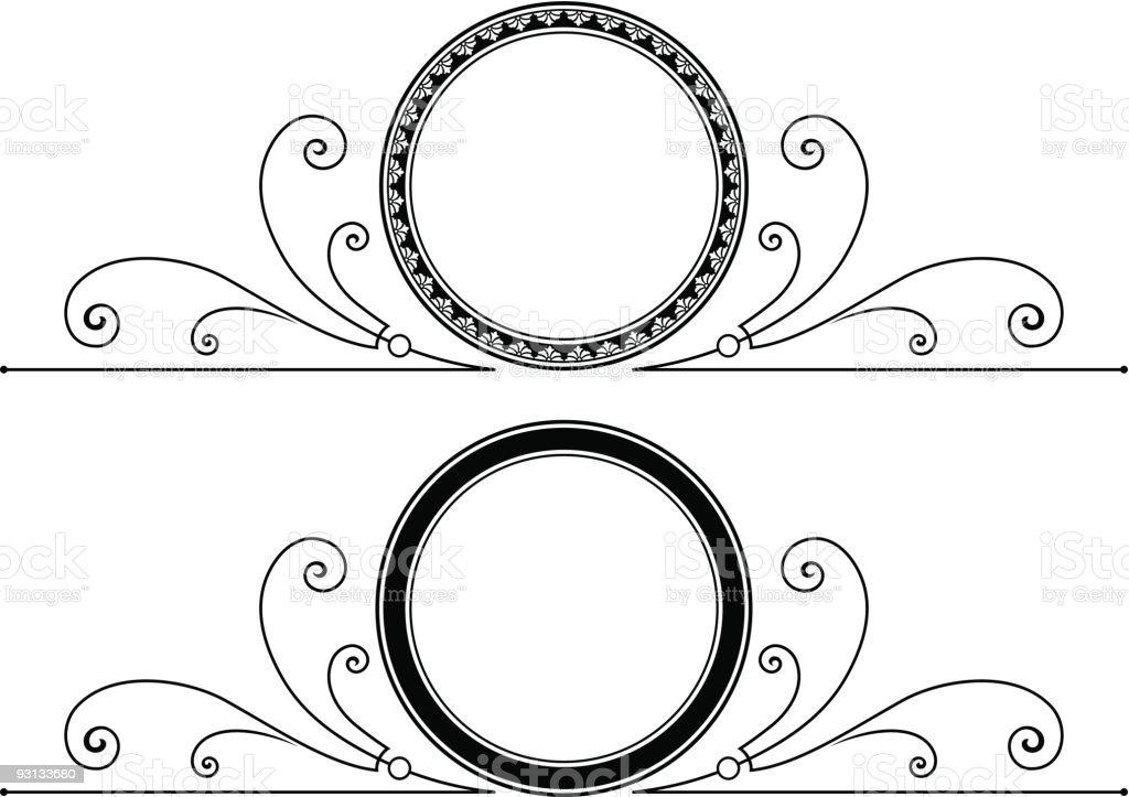 Vector Scroll / Label royalty-free stock vector art