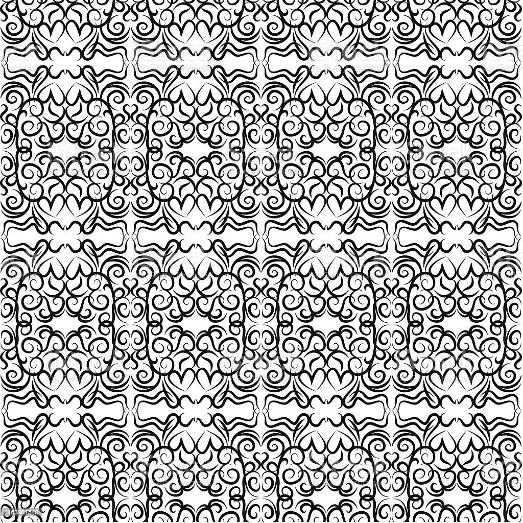 vector seamless lace pattern royalty-free stock vector art