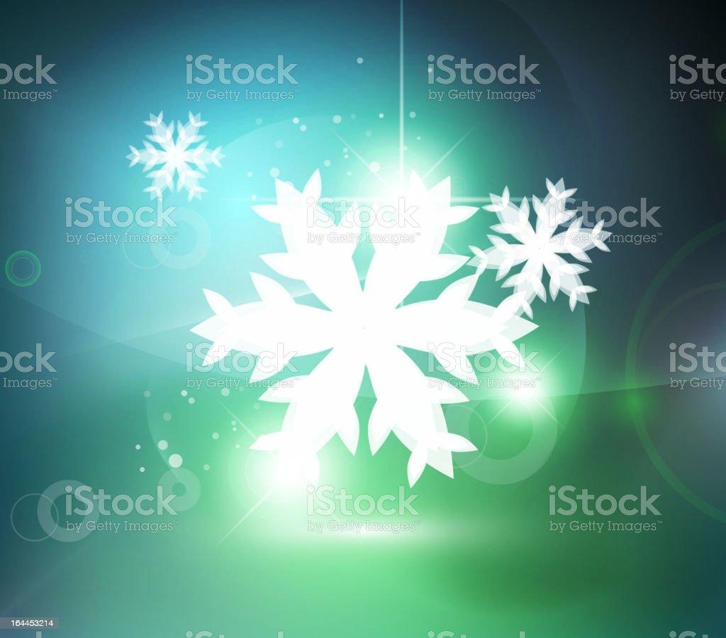 Vector shiny festive christmas background vector art illustration