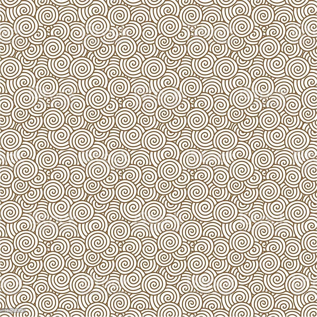 Vector swirl pattern background vector art illustration