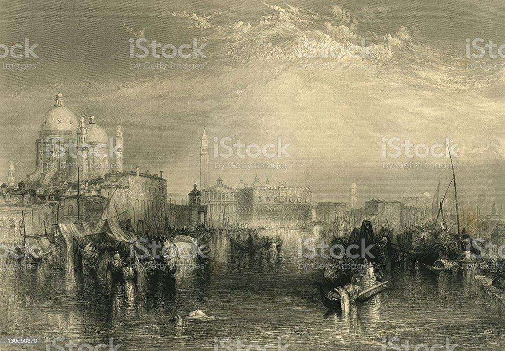 Venice (XXXL) royalty-free stock vector art