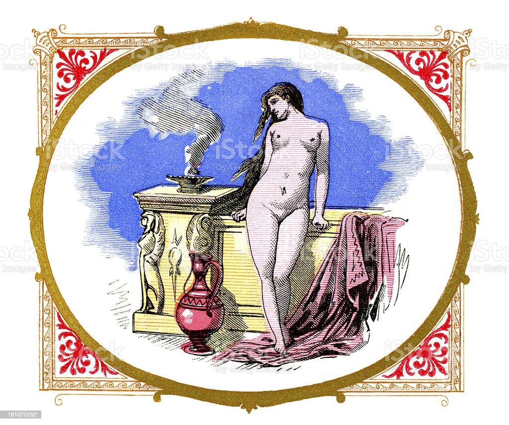 Venus royalty-free stock vector art