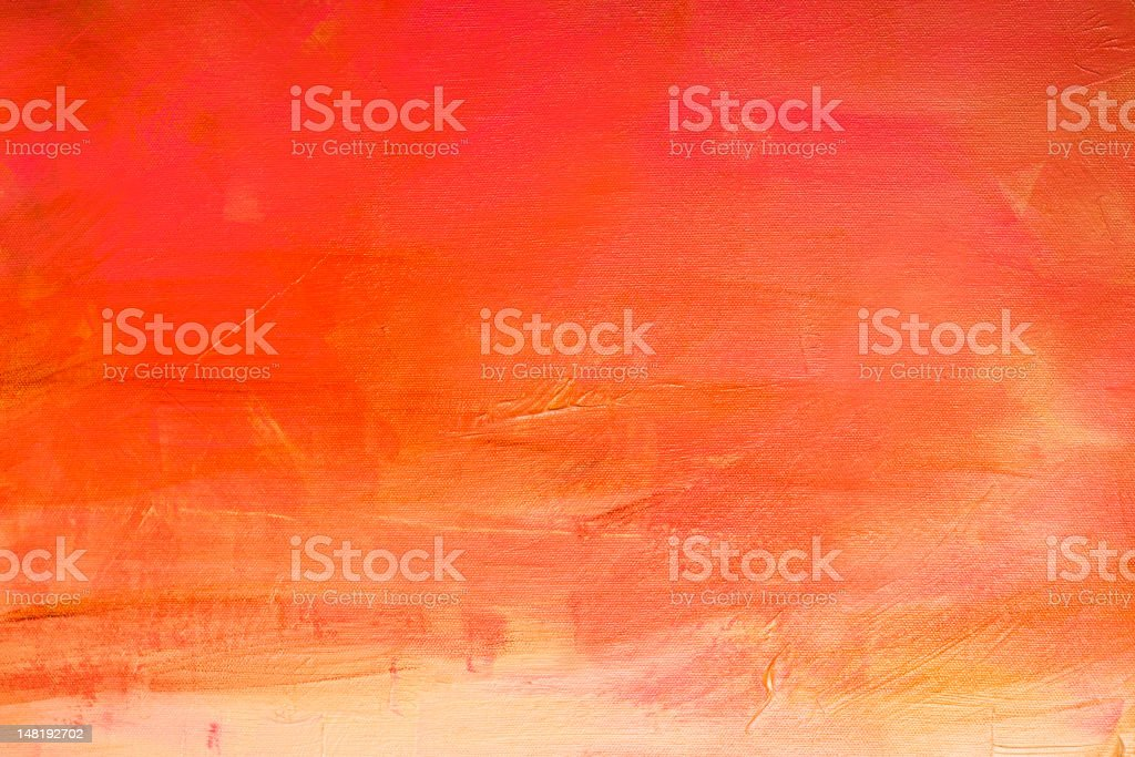 Vibrant abstract art acrylic painting vector art illustration