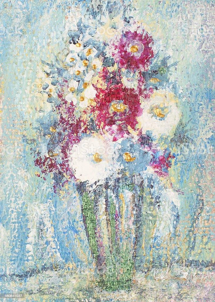 Vibrante Bouquet illustracion libre de derechos libre de derechos