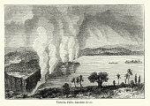 Victoria Falls, Zambesi River, 19th Century