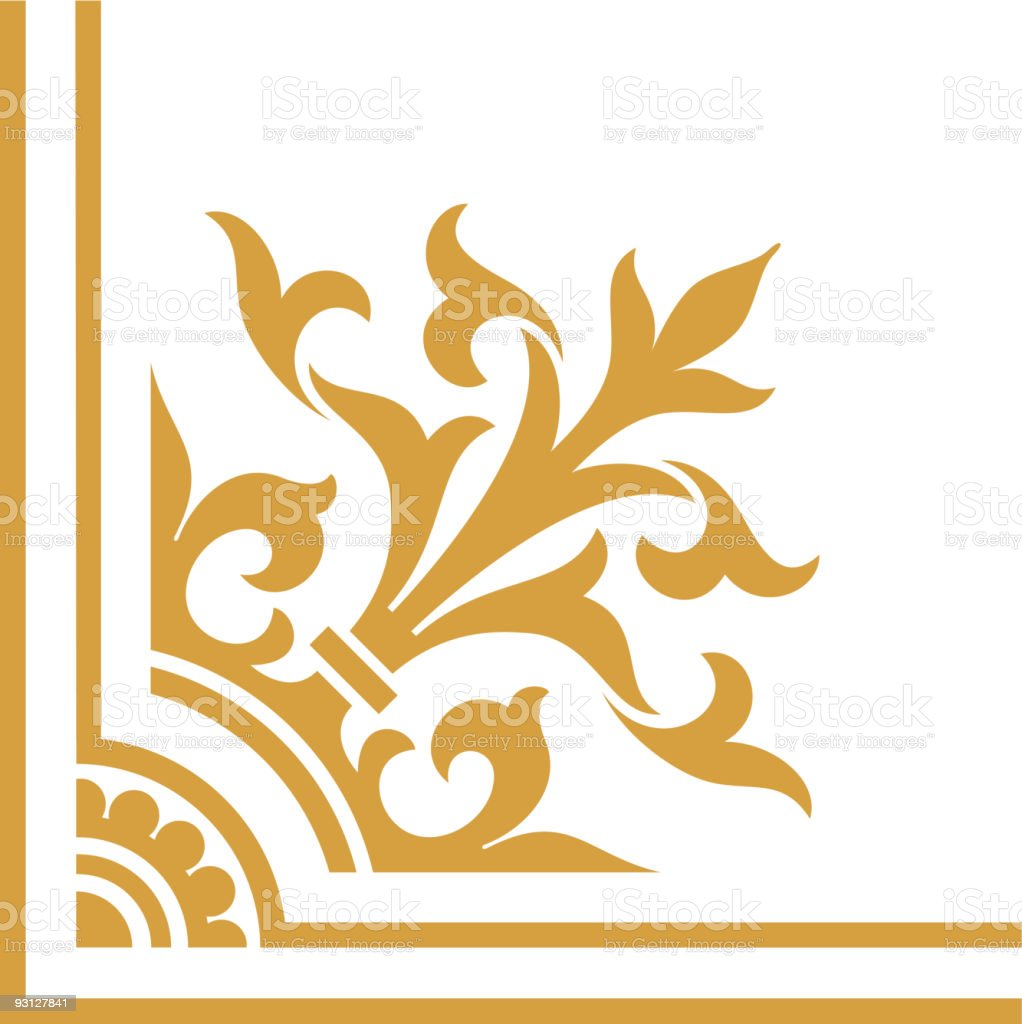 Victorian Corner7-8-12-04 royalty-free stock vector art
