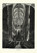 Victorian London - The Choir of Westminster Abbey