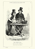 Victorian London - The Oyster Stall