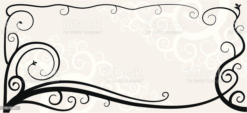 Vignette 03 royalty-free stock vector art