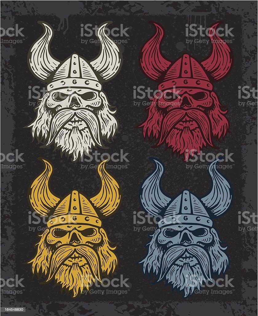 Viking Quartet royalty-free stock vector art
