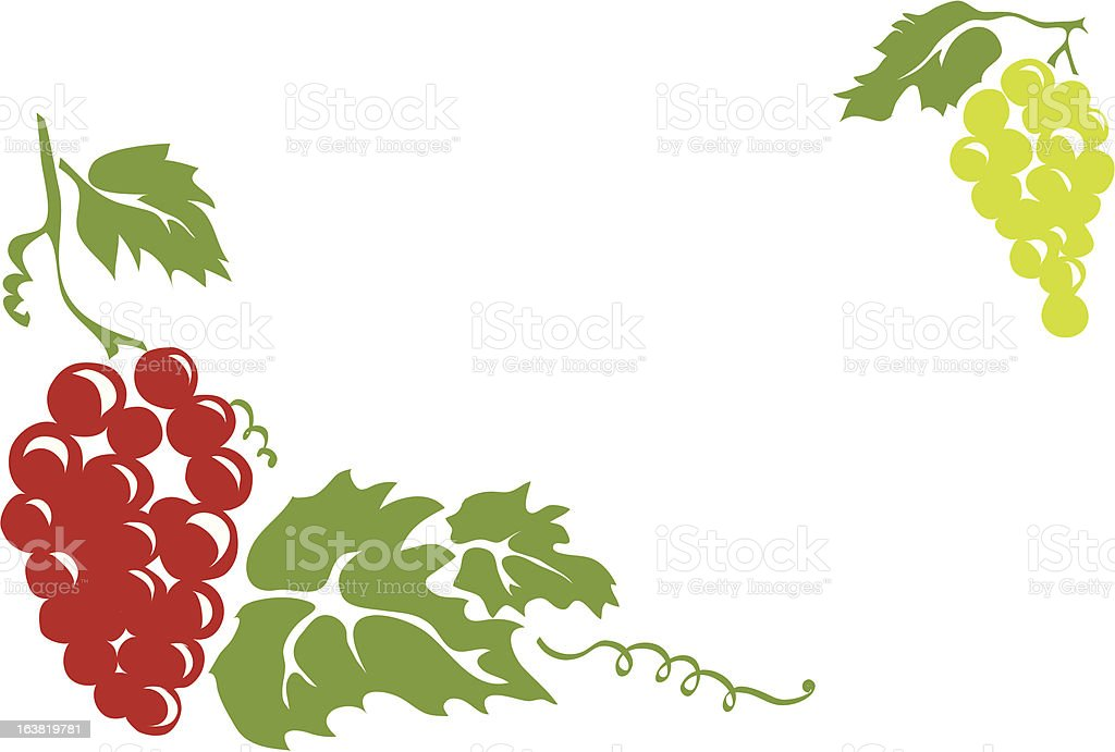 vine 01 vector art illustration