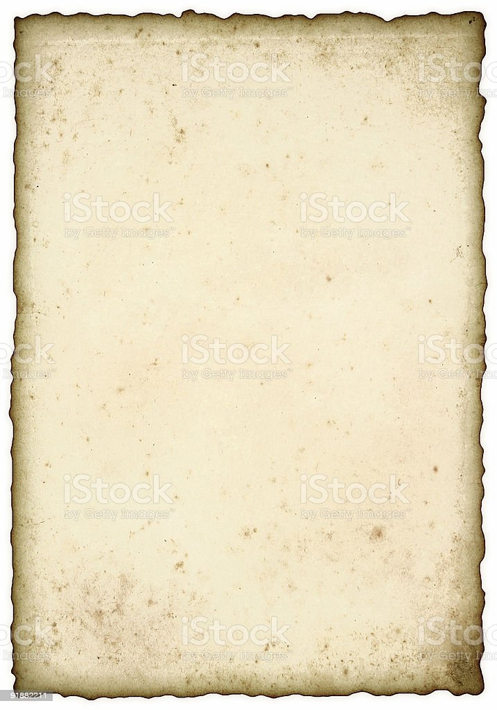 Vintage, aged background - paper royalty-free stock vector art