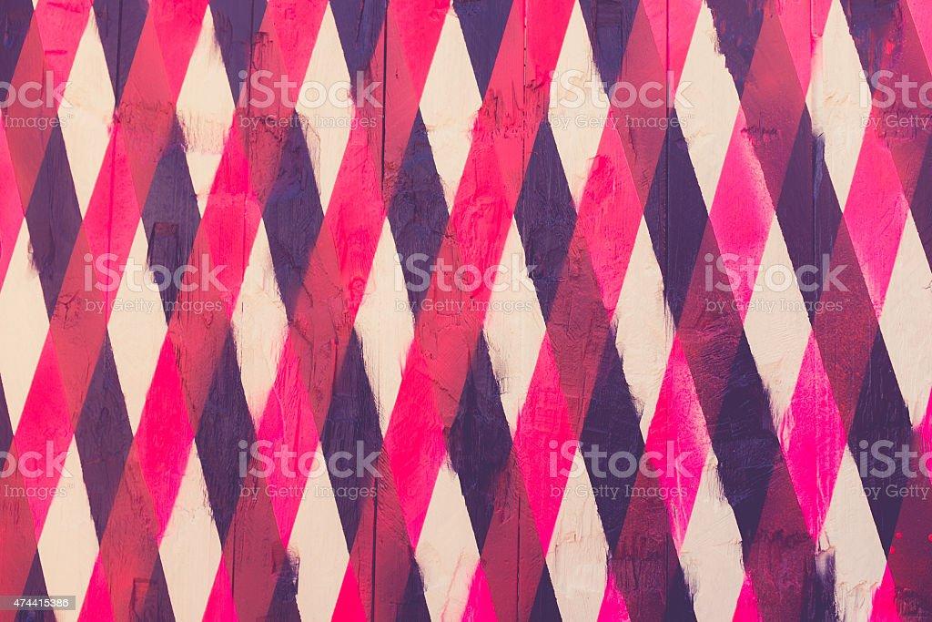 vintage background of overlapping stripes vector art illustration