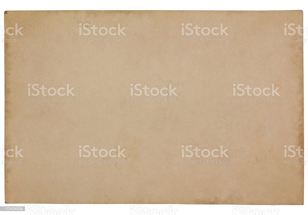 Vintage Blank Damaged Old Card Paper Texture vector art illustration