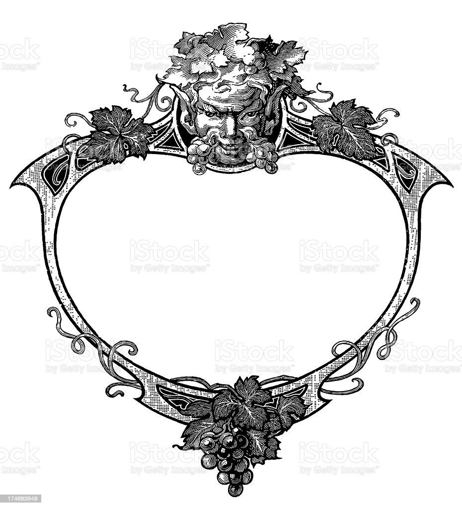 Vintage Clip Art and Illustrations | Classic Decorative Frame royalty-free stock vector art