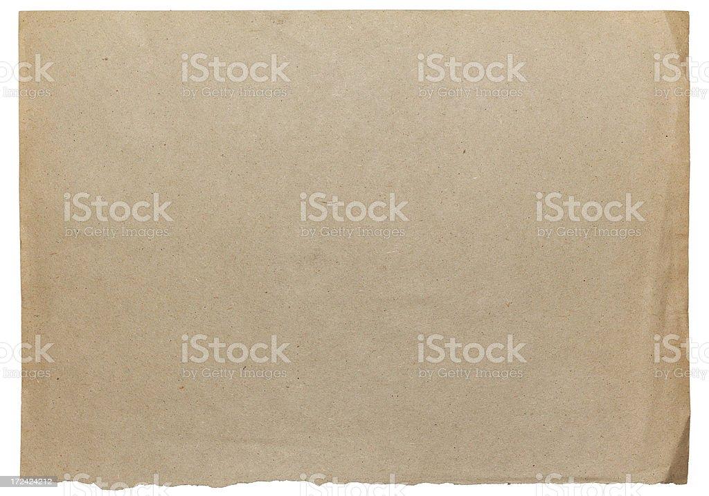 Vintage Damaged Old Blank Card Paper Texture vector art illustration