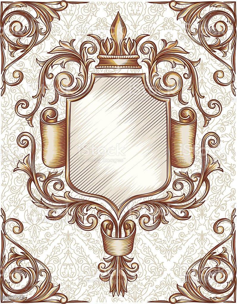 Vintage emblem royalty-free stock vector art