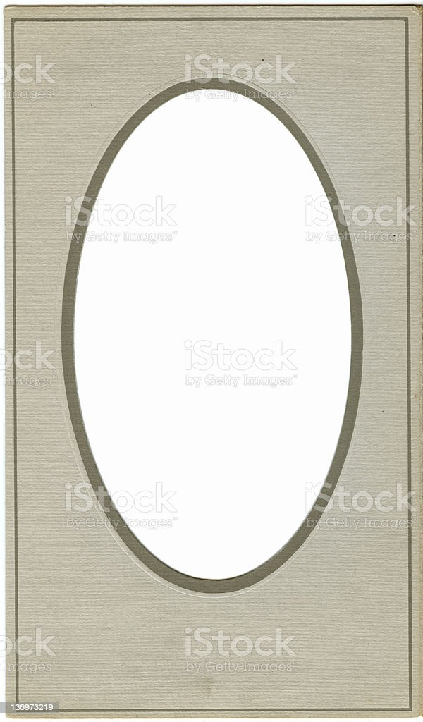 Vintage frame 1900 royalty-free stock vector art