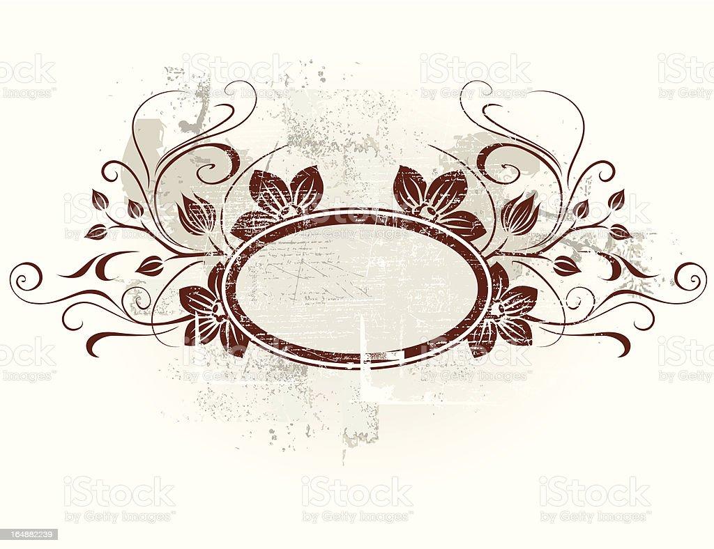 Vintage frame royalty-free stock vector art