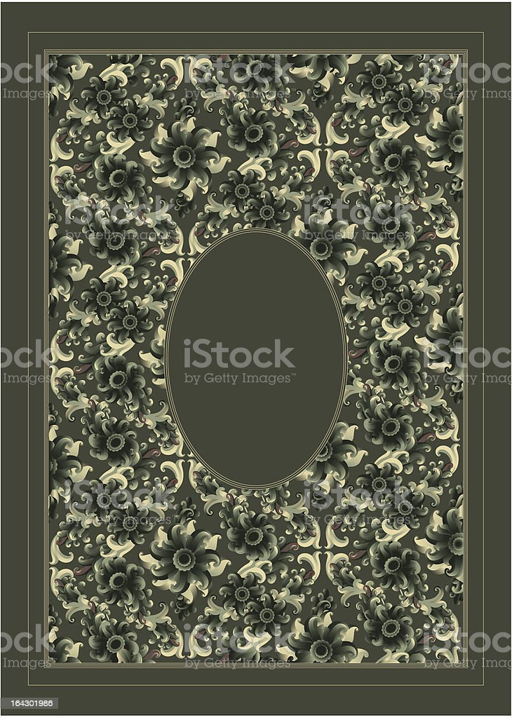 vintage frame -- vector royalty-free stock vector art