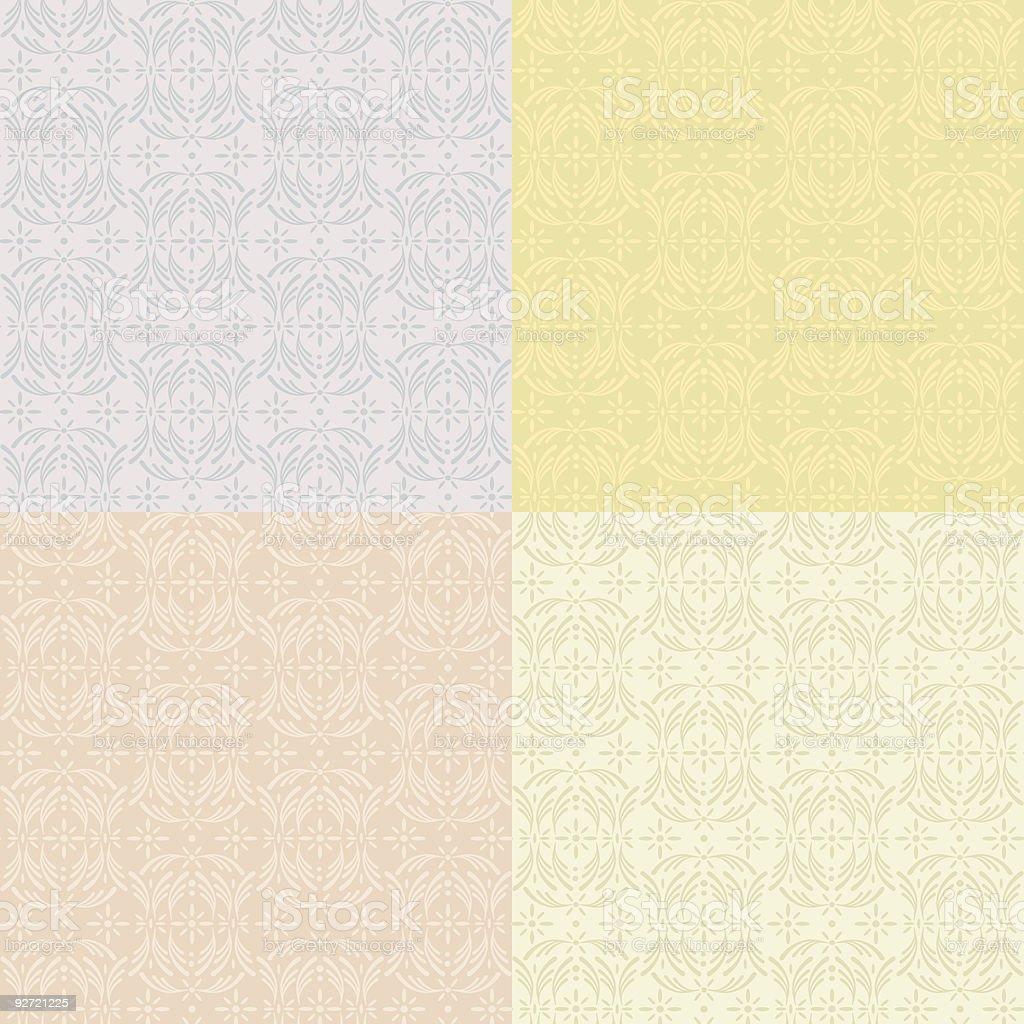 Vintage Modern Pattern royalty-free stock vector art
