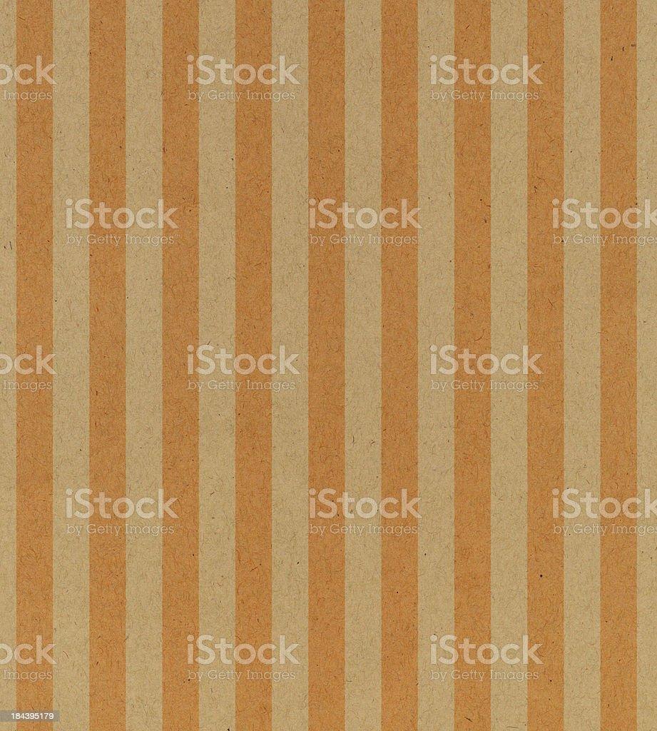 vintage paper with orange stripe royalty-free stock vector art