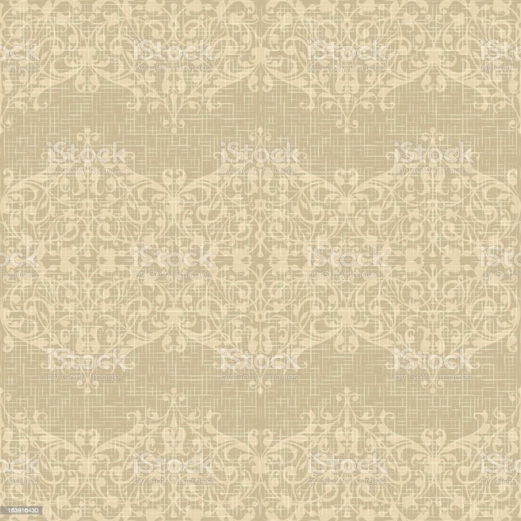 Vintage Seamless floral background. royalty-free stock vector art