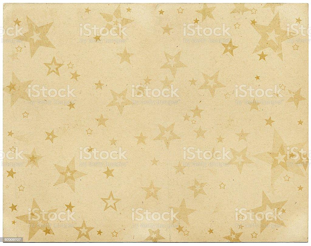 Vintage Stars vector art illustration
