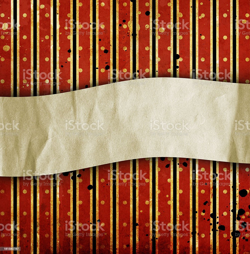 vintage striped background with place for text royalty-free stock vector art