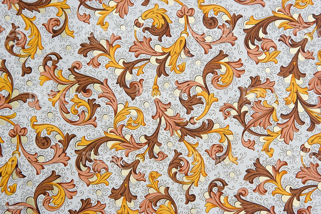 Vintage Wallpaper royalty-free stock vector art