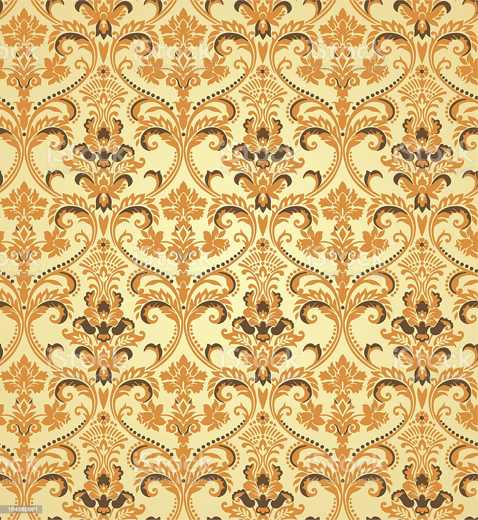 vintage wallpapers royalty-free stock vector art