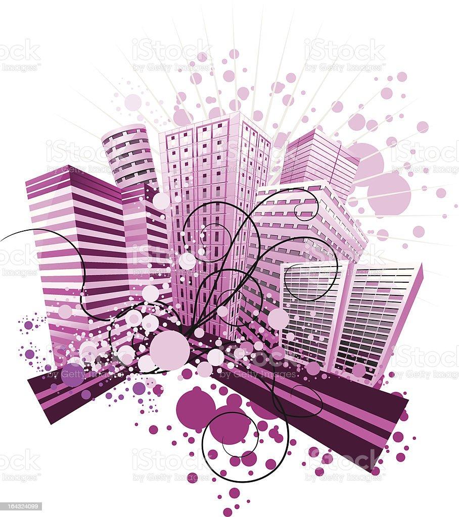 violetcity royalty-free stock vector art
