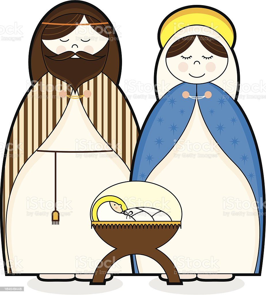 Virgin Mary and Joseph Clip Art – Clipart Download