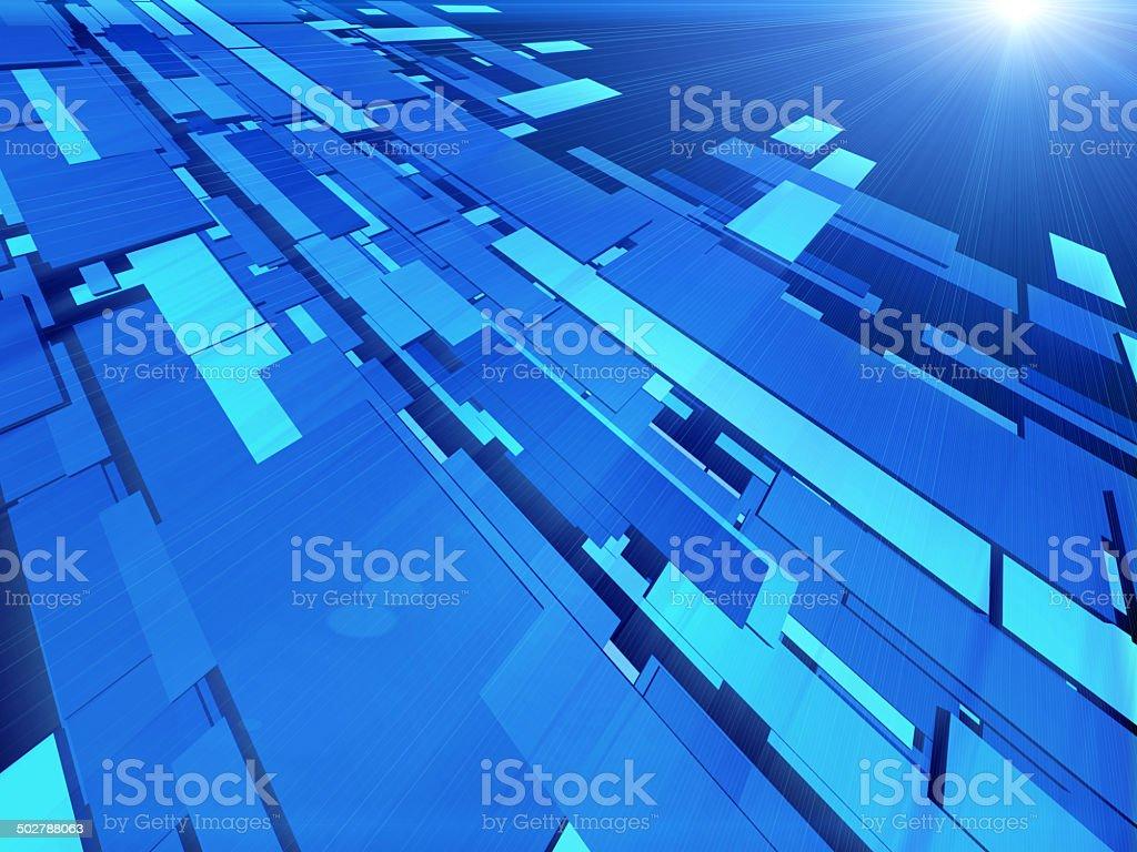 Virtual tecnology background royalty-free stock vector art