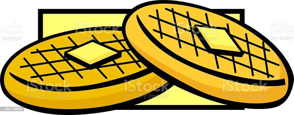 waffles royalty-free stock vector art